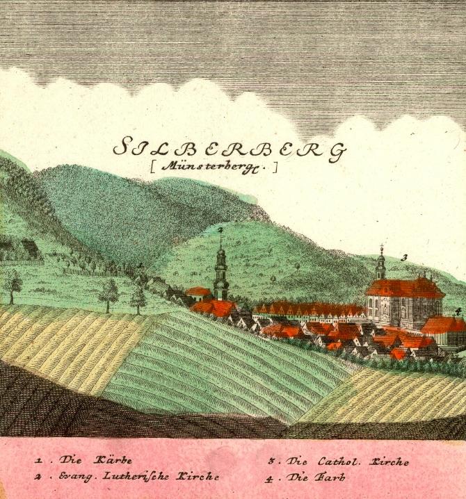 Srebrna Góra (Silberberg) - Rok 1738