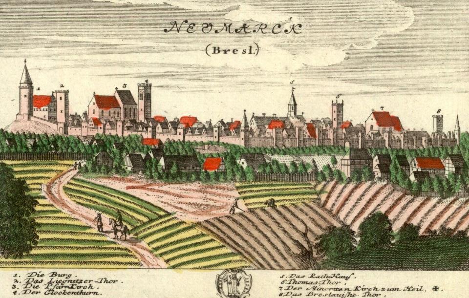 Środa Śląska (Neumarck) - Rok 1737