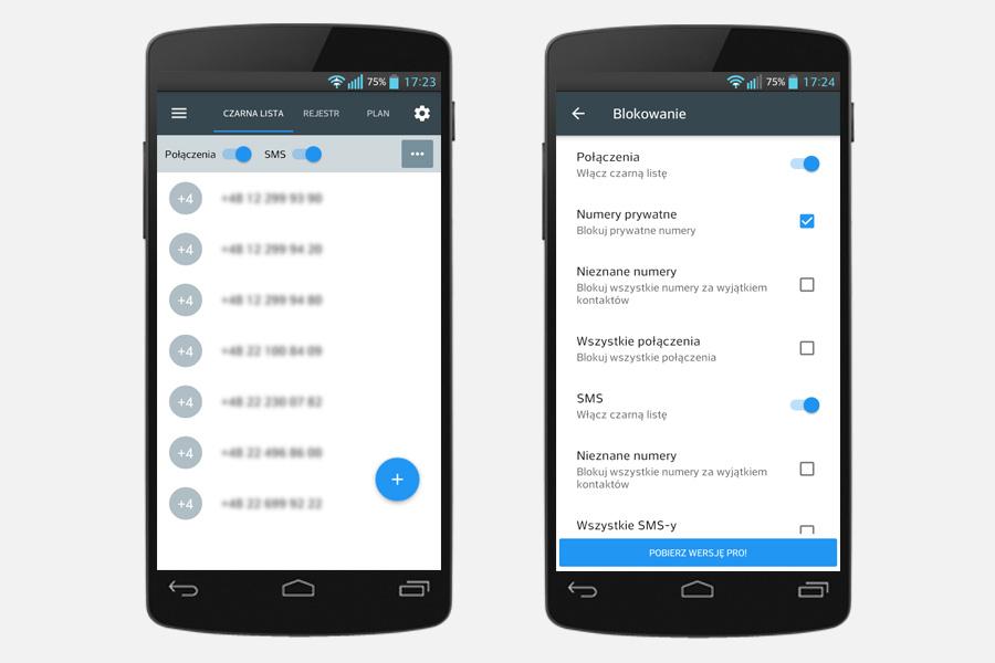 Aplikacja Calls Blacklist, blokowanie niechcianych połączeń na Androidzie