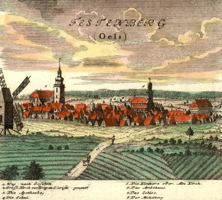 Twardogóra (Festenberg) - Rok 1737