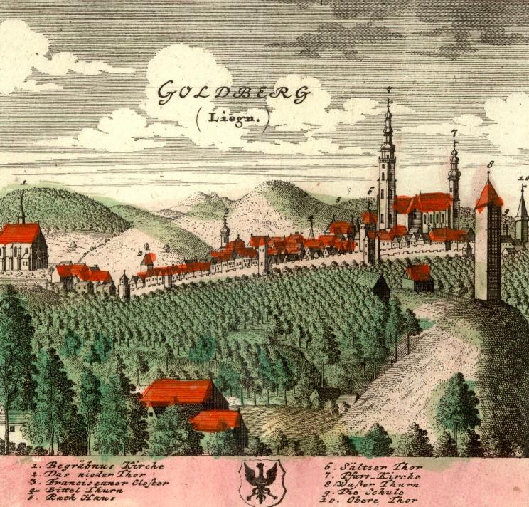 Złotoryja (Goldberg) - Rok 1738