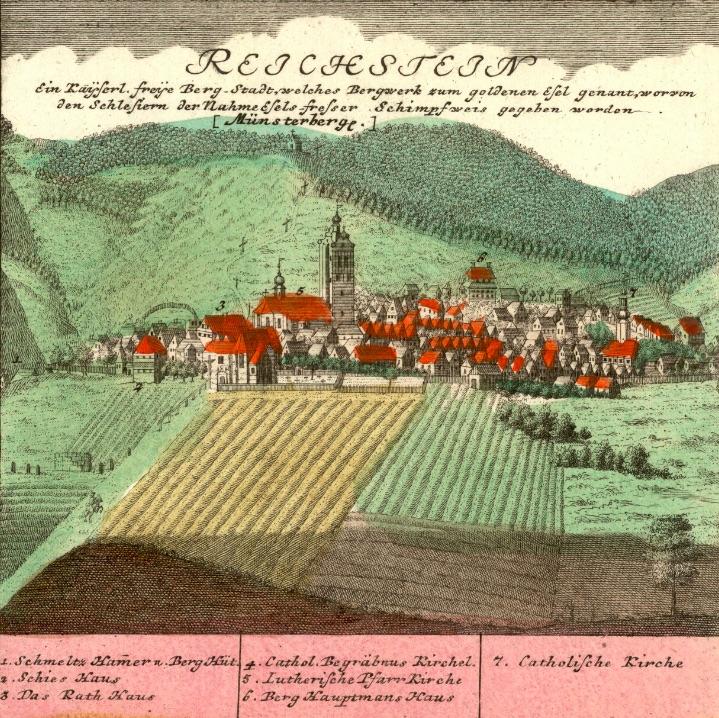 Złoty Stok (Reichstein) - Rok 1738