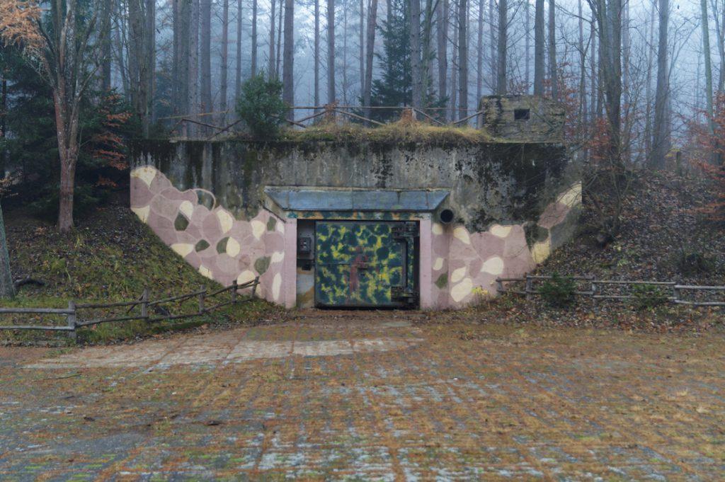 Magazyn (schron typu T-7) nr 18 - Obiekt 3001 w Podborsku