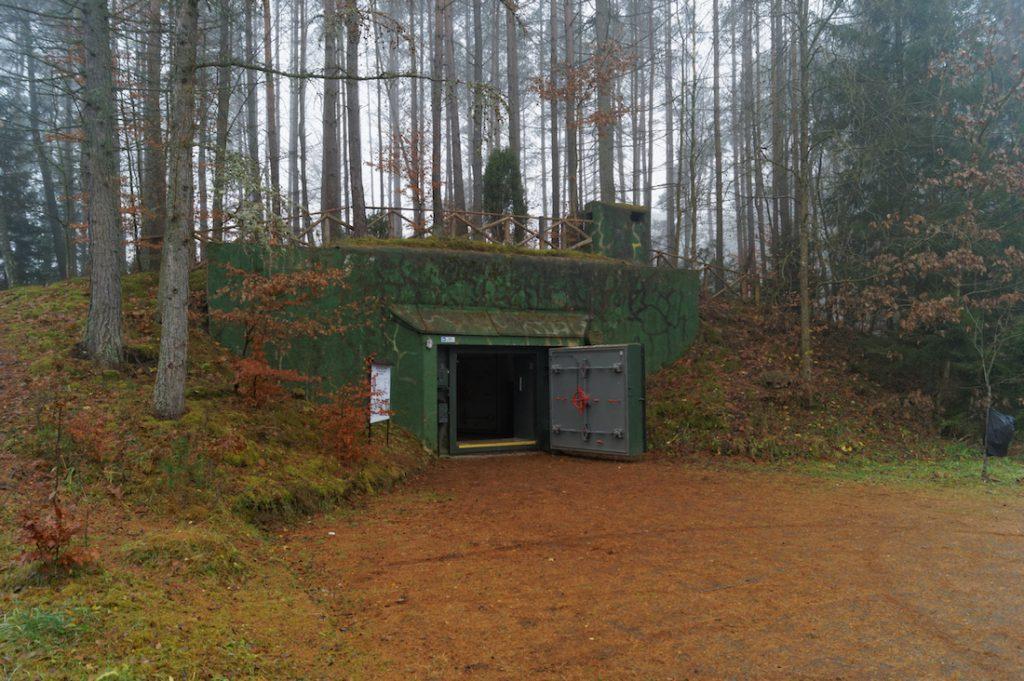 Magazyn (schron typu T-7) nr 17 - Obiekt 3001 w Podborsku