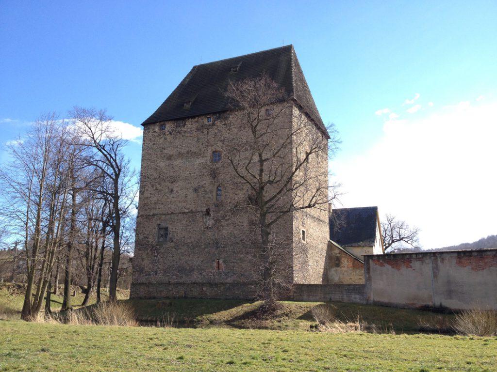 Wieża Książęca w Siedlęcinie współcześnie