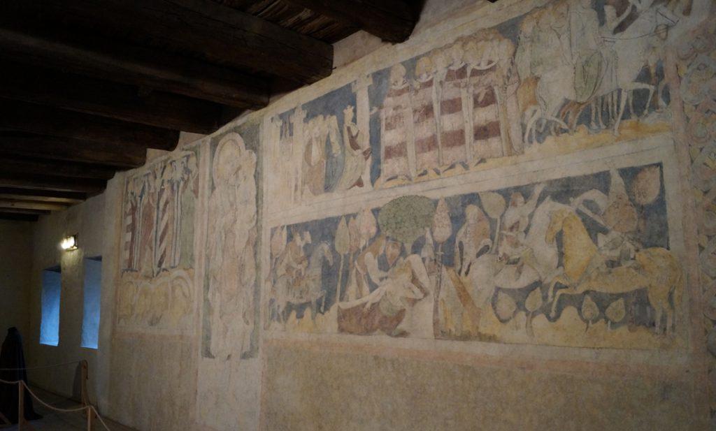 Malowidła w wieży książęcej w Siedlęcinie