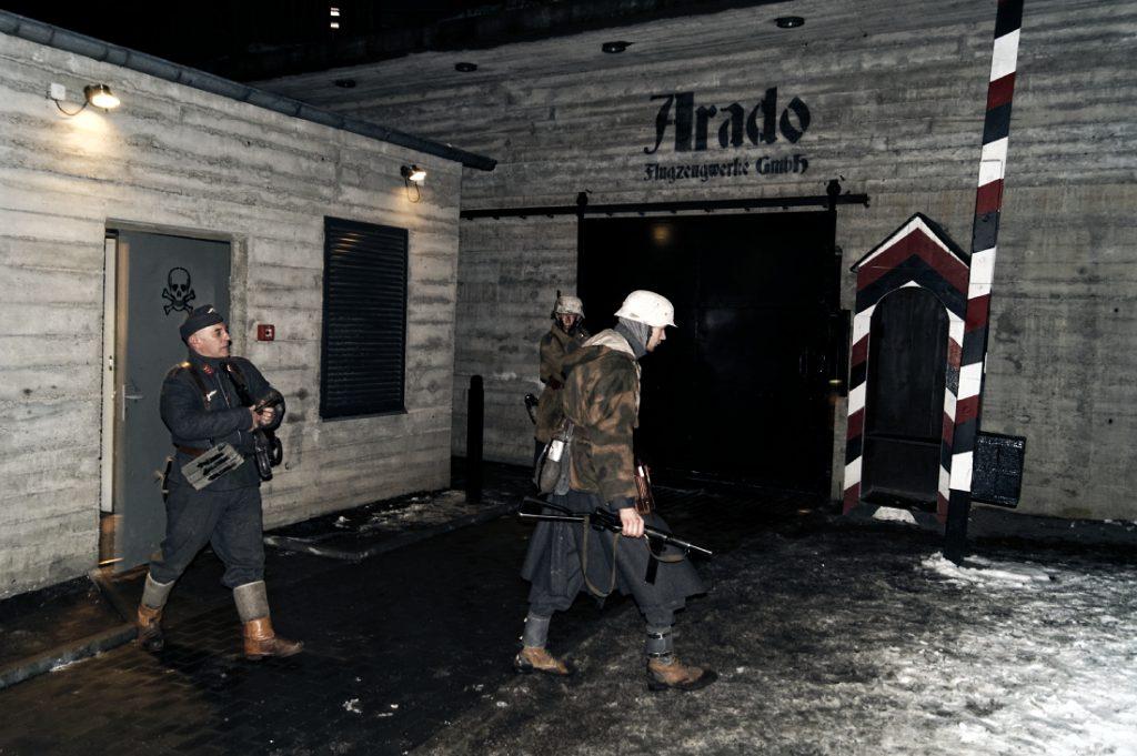 Wejście do podziemi Arado
