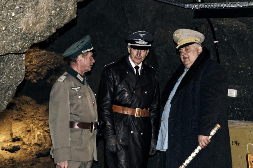 W środku schronił się Hermann Göring wraz ze swoim sztabem