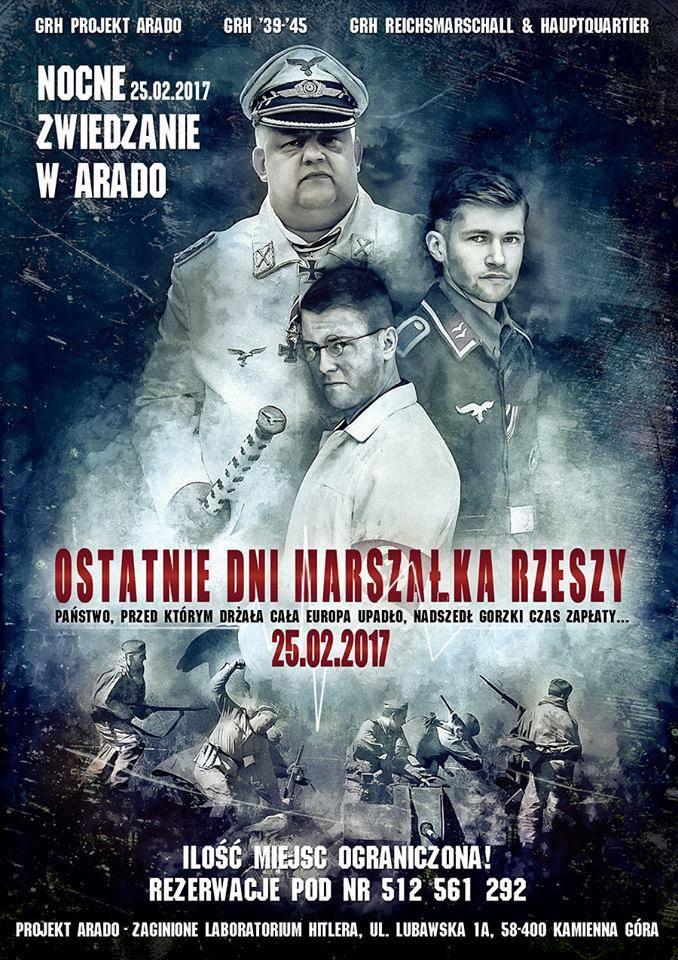 Ostatnie dni Marszałka Rzeszy - Nocne zwiedzanie Arado