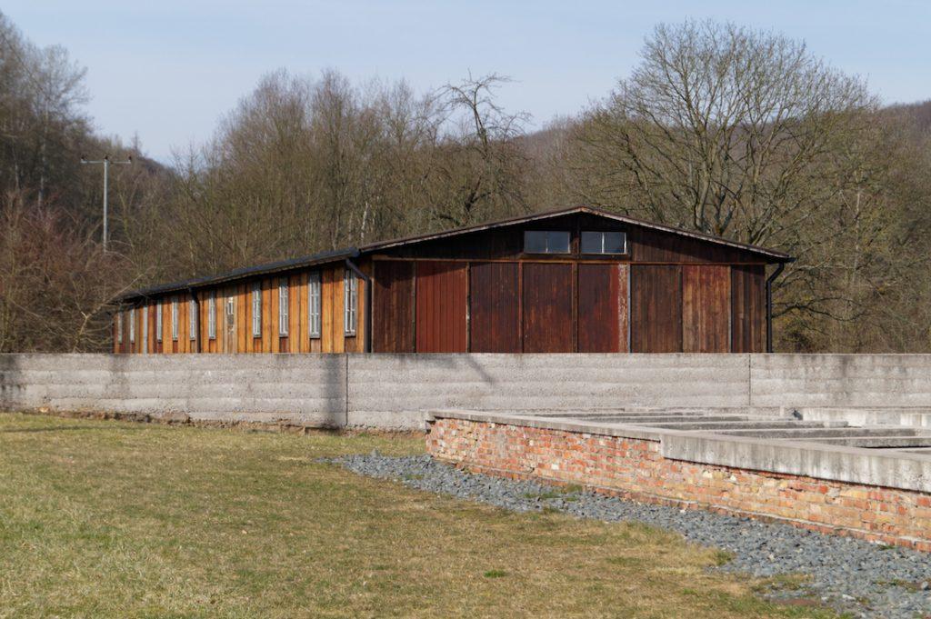 Stolarnia, jeden z nielicznych zachowanych budynków