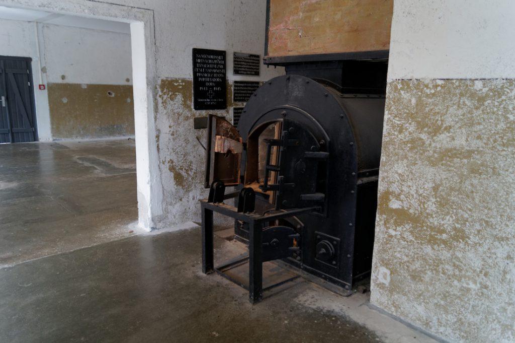 Piec krematorium KZ Mittelbau-Dora
