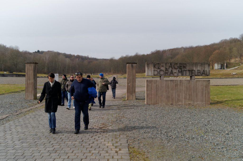 Teren obozu koncentracyjnego KZ Mittelbau-Dora