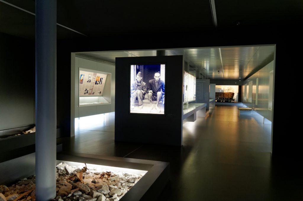 Ekspozycja w muzeum KZ Mittelbau-Dora
