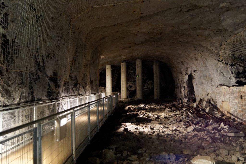 Podziemia kompleksu Mittelbau-Dora