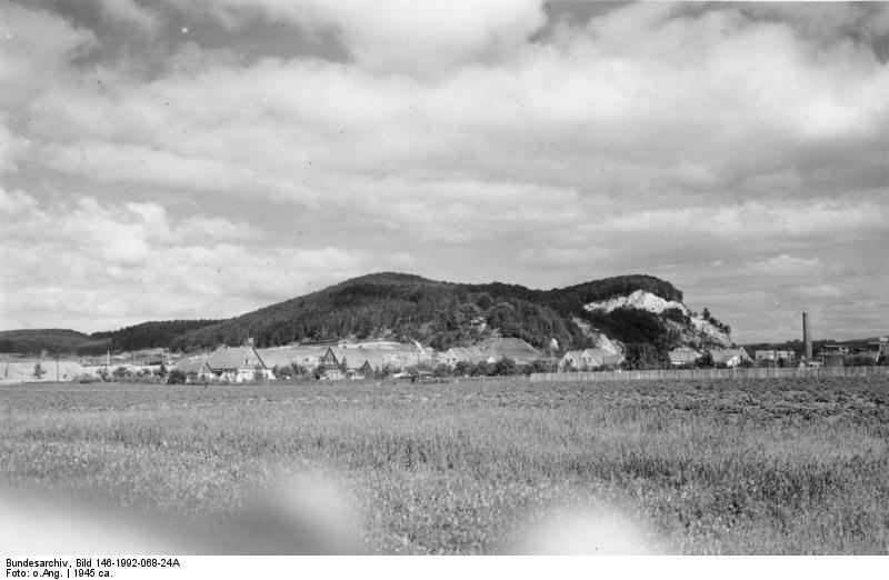 Góra Kohnstein - Źródło: Bundesarchiv Bild 146-1992-068-24A