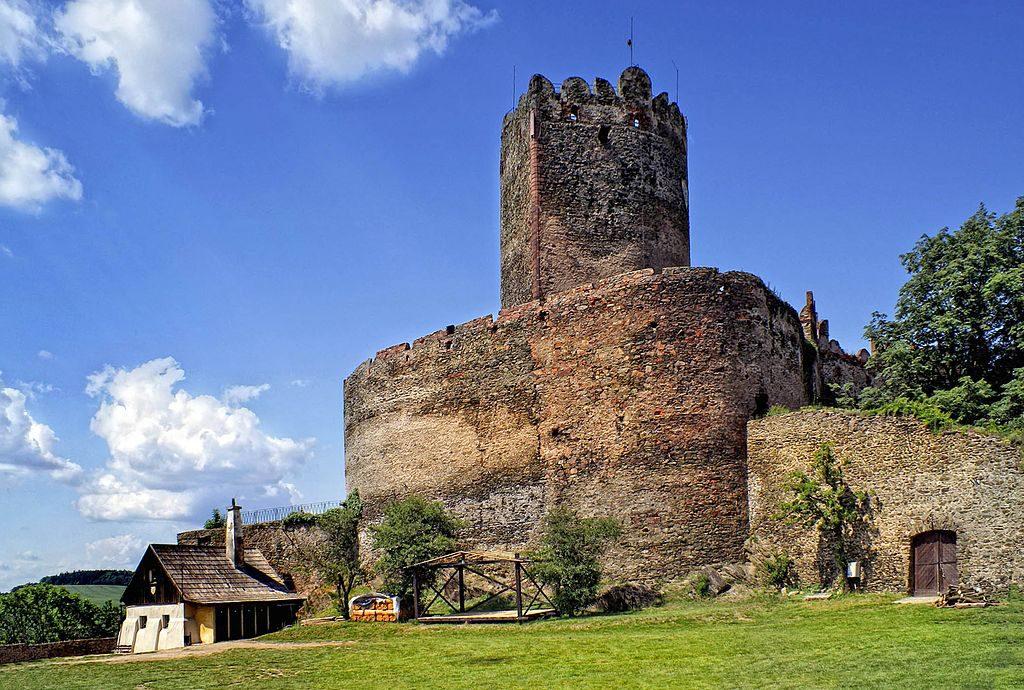 Zamek Bolków - Foto: Barbara Maliszewska Źródło: commons.wikimedia.org