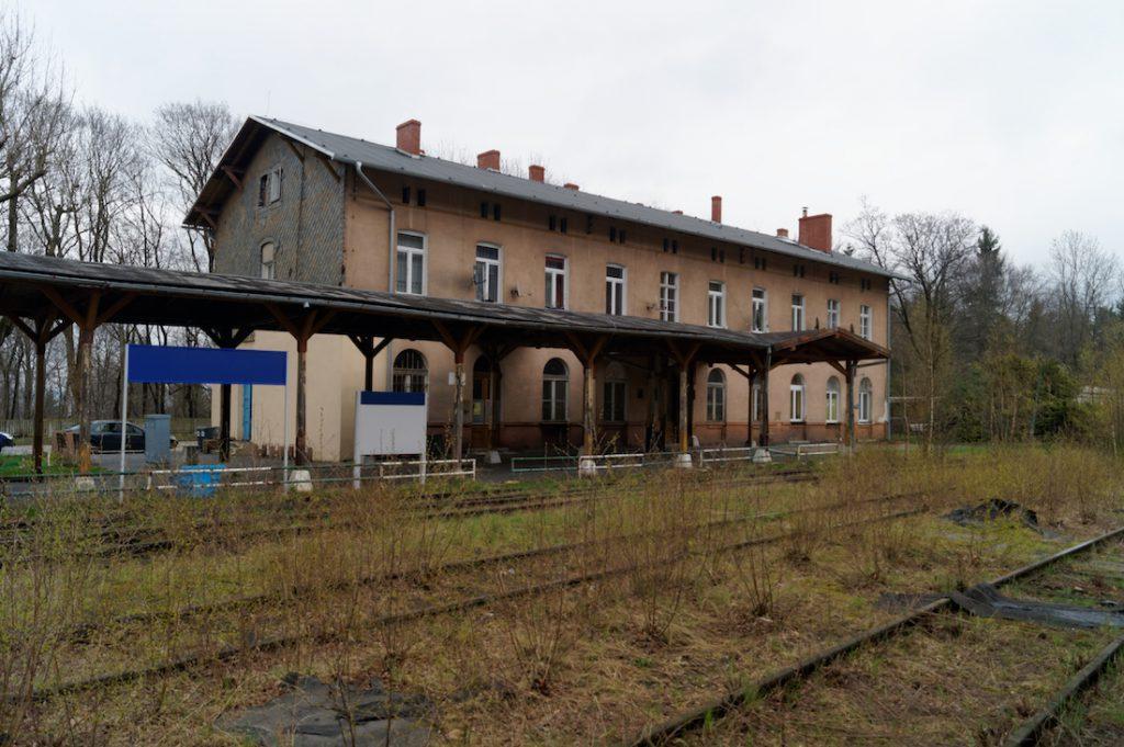 Dworzec Jedlina-Zdrój (Bahnhof Bad Charlottenbrunn)