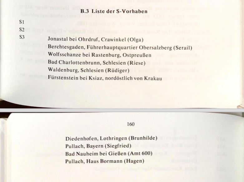 Lista niemieckich budowli S3 (S-Vorhaben) i Rüdiger - Autor: Hans Walter Wichert