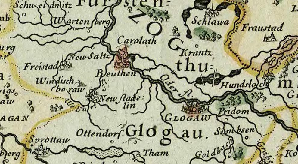 Beuthen (Bytom Odrzański) i Glogau (Głogów)