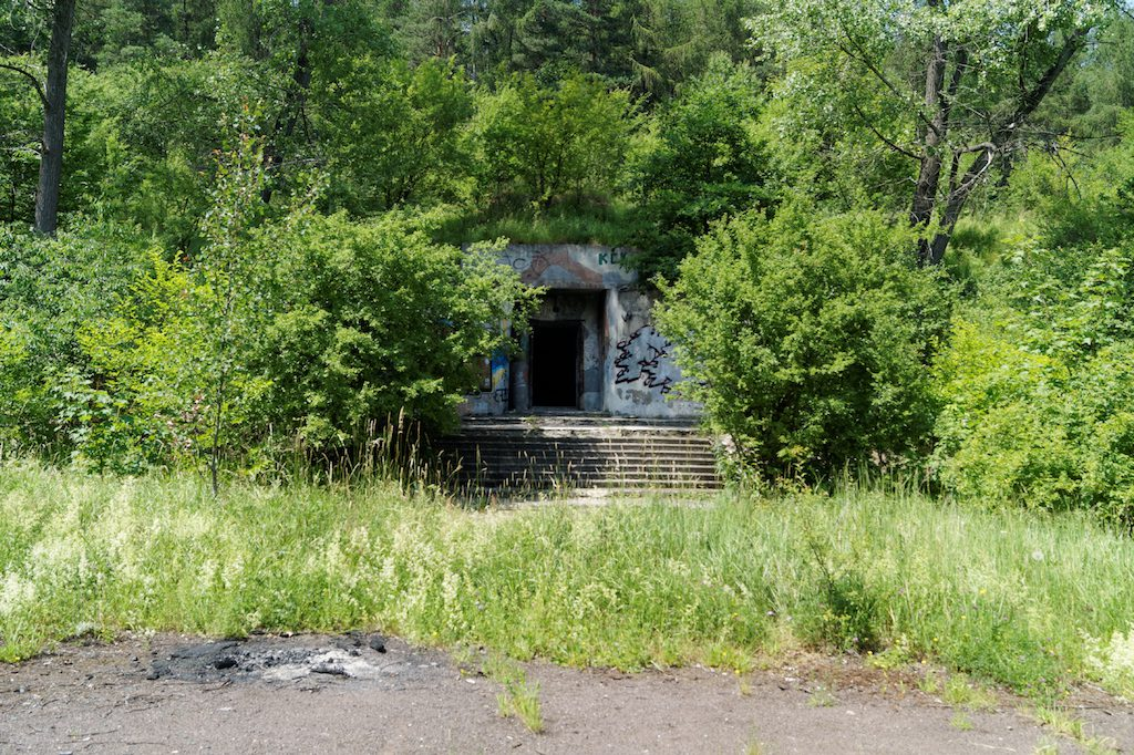 Opuszczony radziecki schron w Witoszowie Dolnym