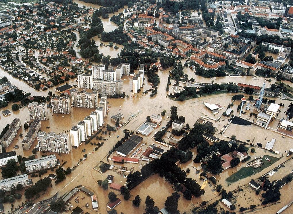 Powódź w Nysie - Źródło: dolny-slask.org.pl