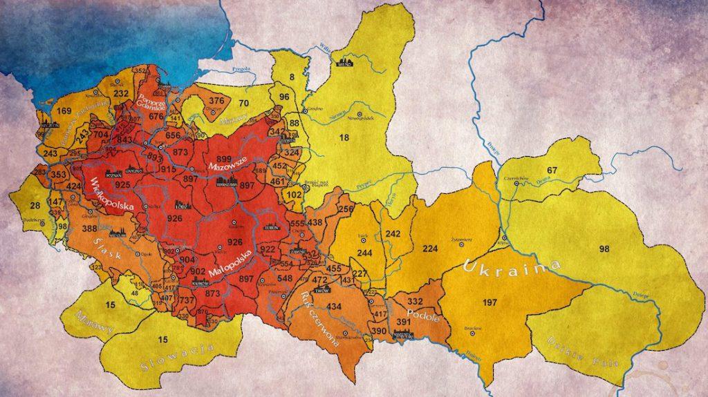 Przez tyle lat poszczególne ziemie należały do Polski - Autor: Piotr Kwaczyński