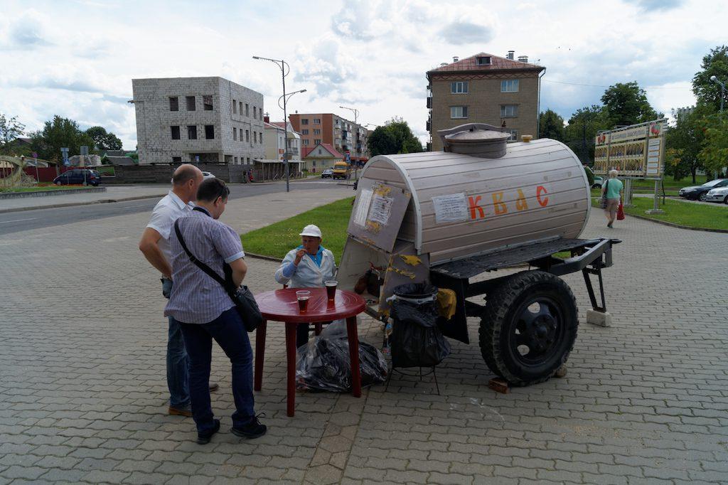 Na Białorusi kwas można kupić nawet bezpośrednio na ulicy