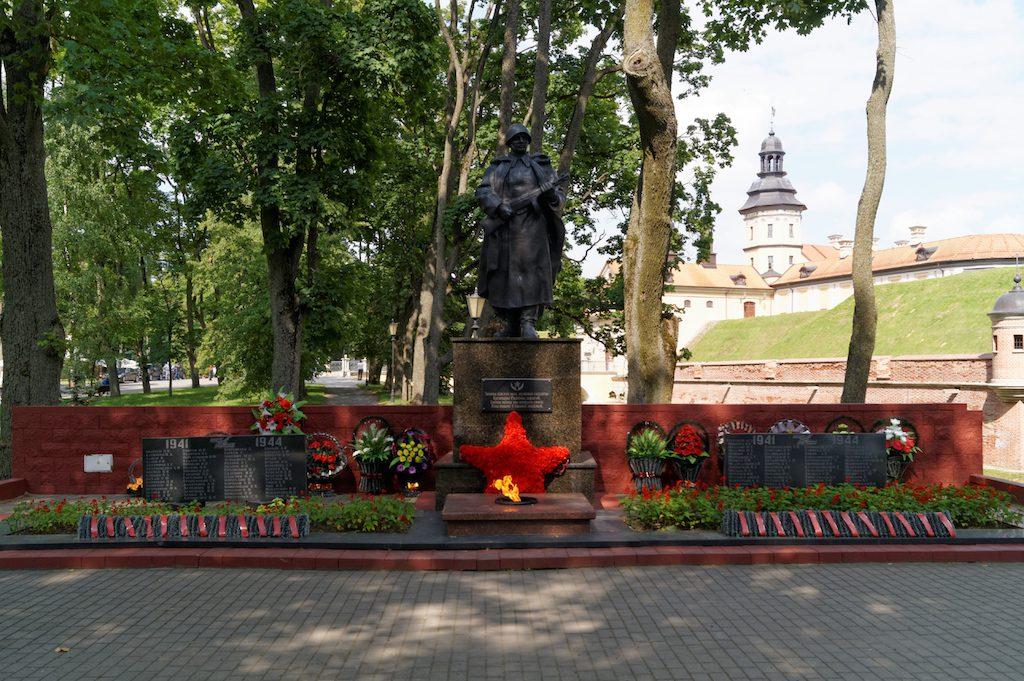 Pomnik czerwonoarmisty w Nieświeżu