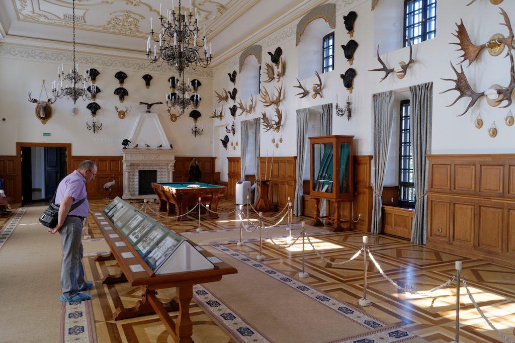 Sala łowiecka