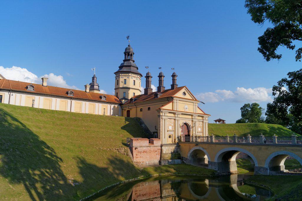 Zamek w Nieświeżu - Wpisany na Listę Światowego Dziedzictwa UNESCO