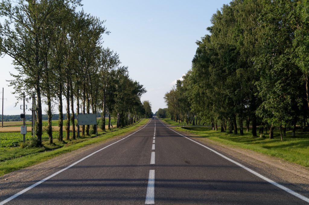 Drogi na Białorusi w większości utrzymane są w bardzo dobrym stanie
