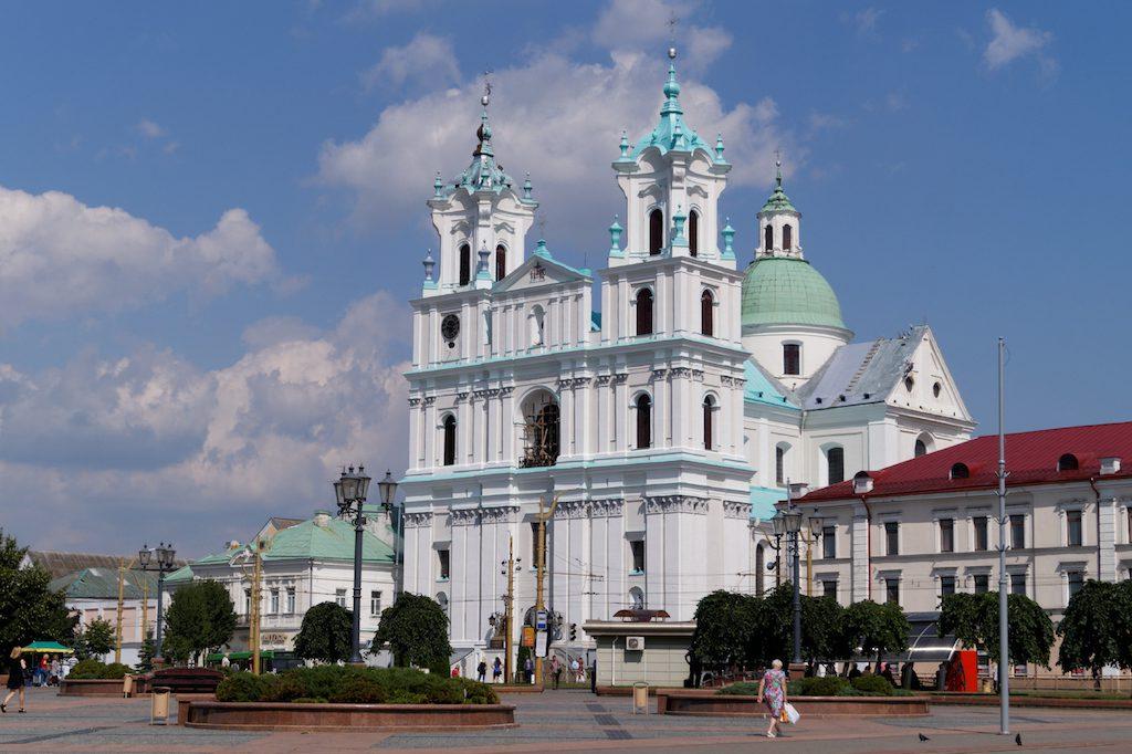 Do znajdującego się tuż przy granicy Grodna można już jechać bez wizy