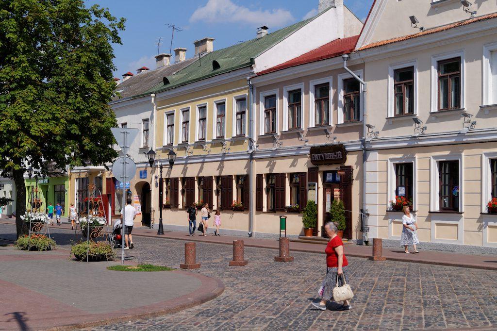 W białoruskich miastach jest przeważnie czysto i schludnie, choć często również skromnie