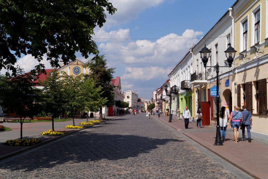 Na ulicach białoruskich miast jest bezpiecznie i spokojnie - Grodno