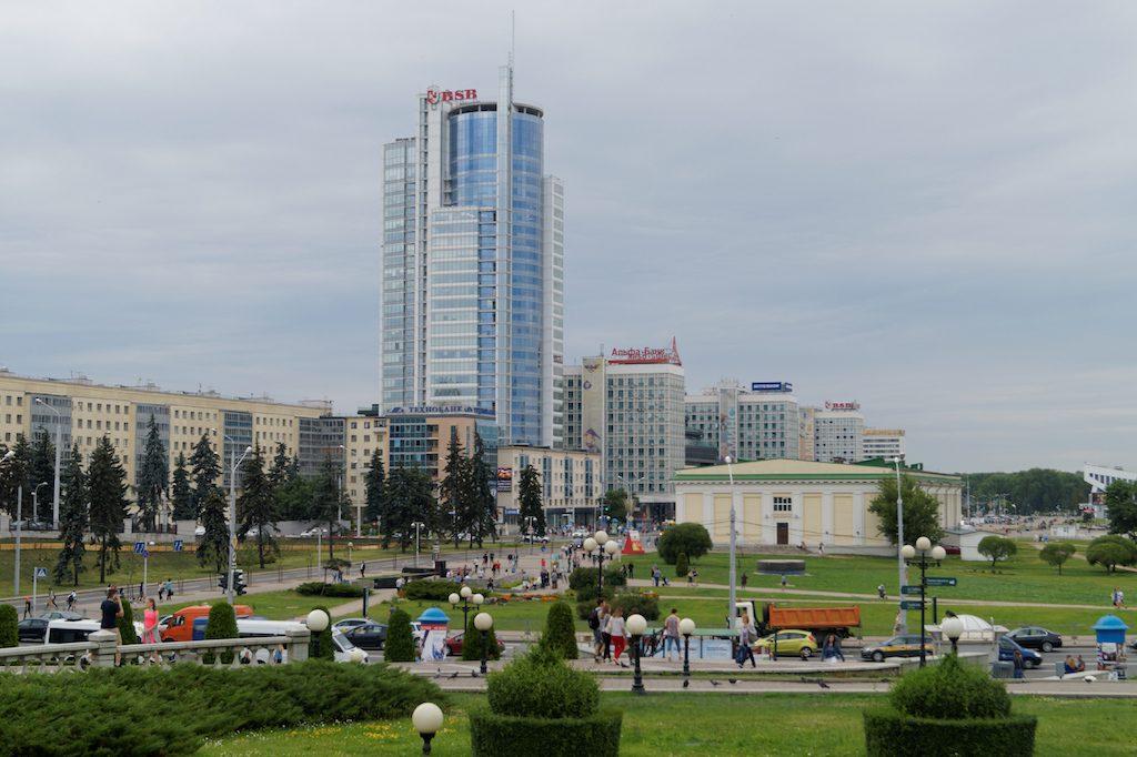 Mińsk prezentuje się jako nowoczesna stolica