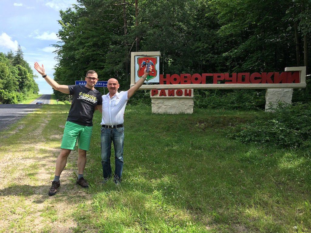 Ja i Pan Aleksander - Wyjazd turystyczny na Białoruś