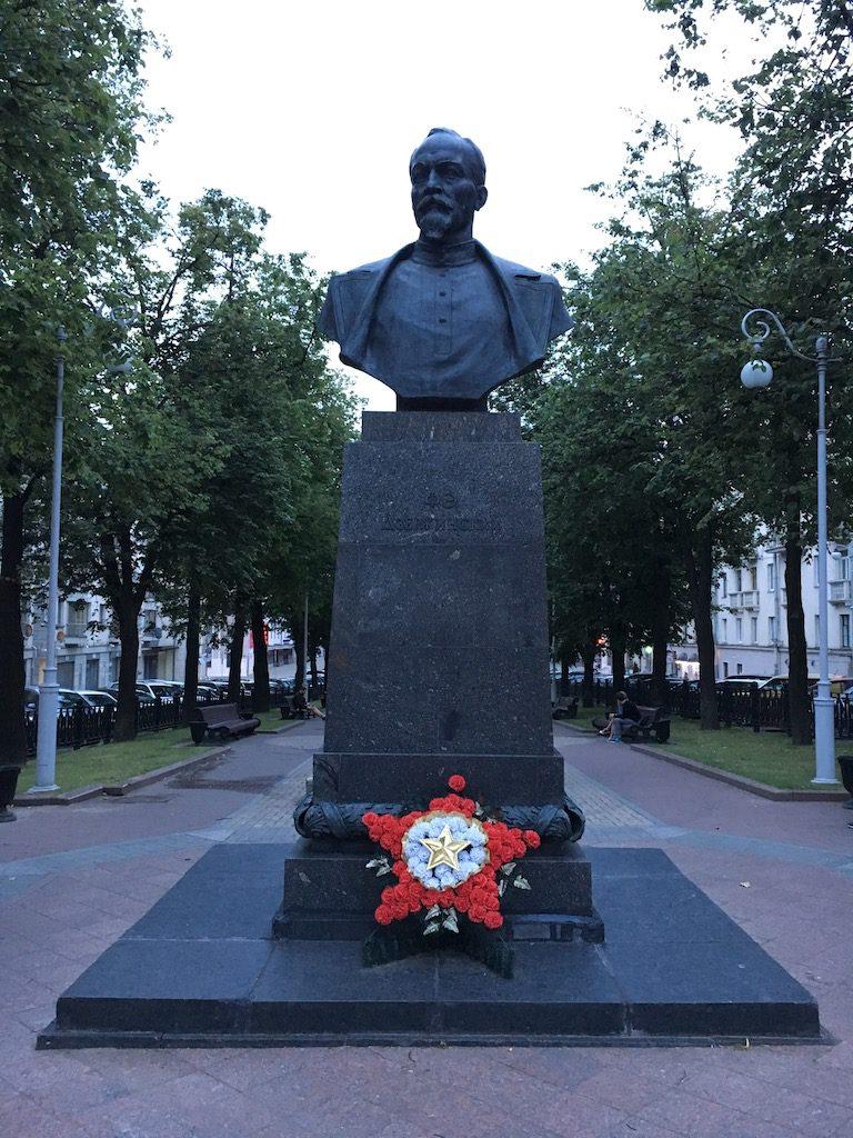 Pomnik Feliksa Dzierżyńskiego w Mińsku
