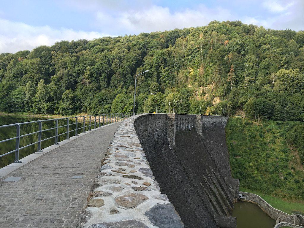 Zapora na Bystrzycy w Zagórzu Śląskim