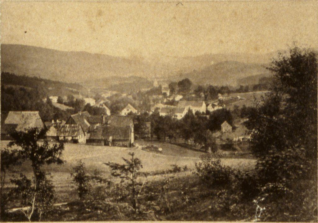 Jedlina-Zdrój, zdjęcia Dolnego Śląska H. Krone objęły kilka miejscowości uzdrowiskowych - Hermann Krone, ok. 1860 rok