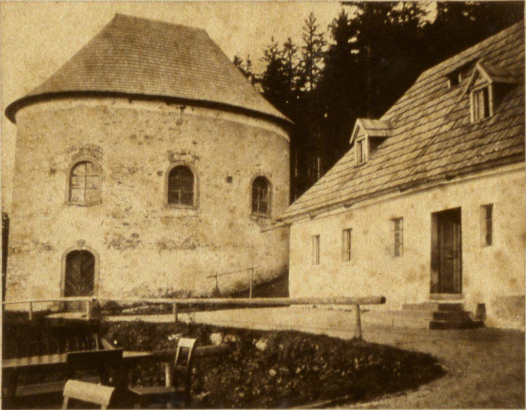 Kaplica św. Anny na Grabowcu - Hermann Krone, ok. 1865 rok