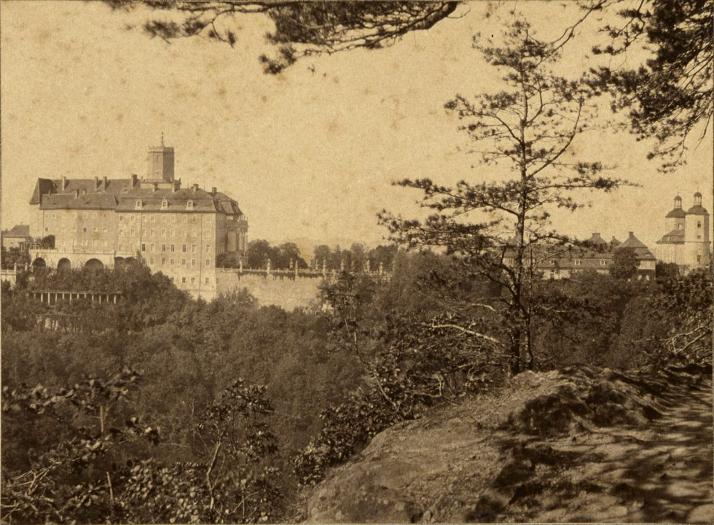 Zamek Książ - Hermann Krone, 1865 rok