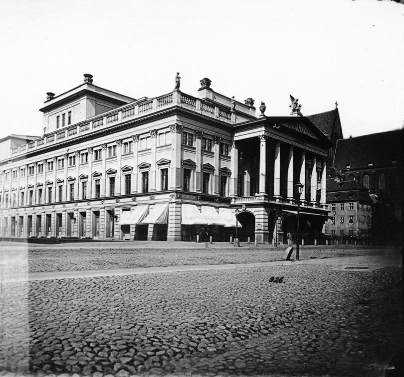 Wrocławska Opera - Hermann Krone, po 1863 roku