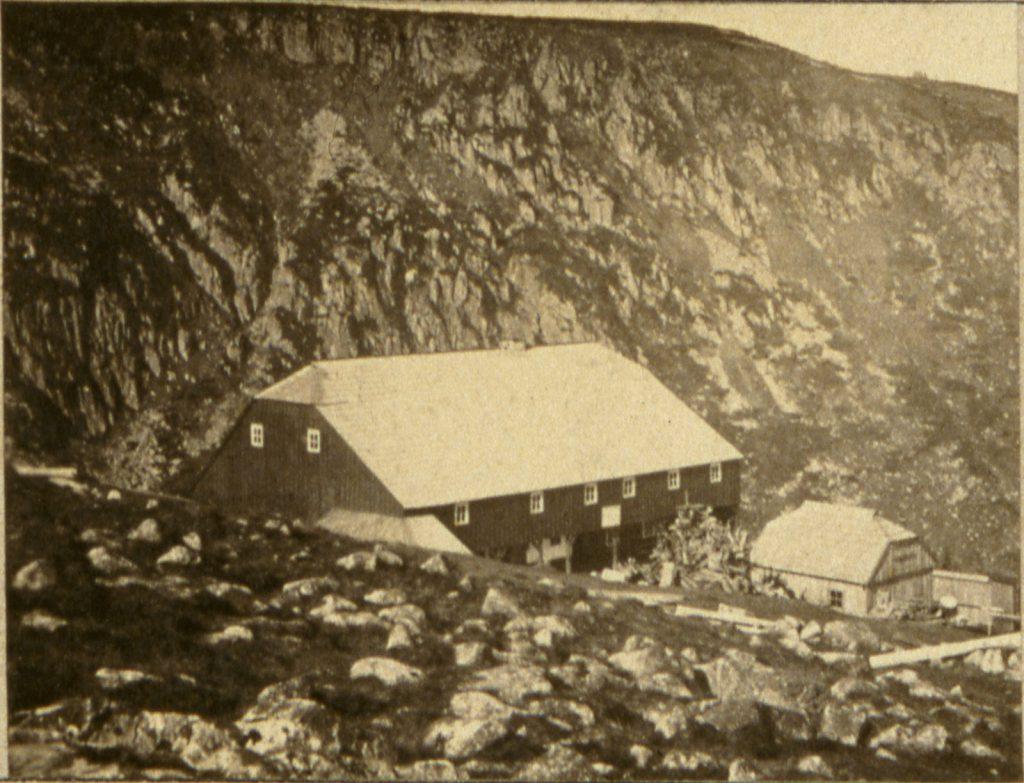 Schronisko Strzecha Akademicka - Hermann Krone, ok. 1865 rok