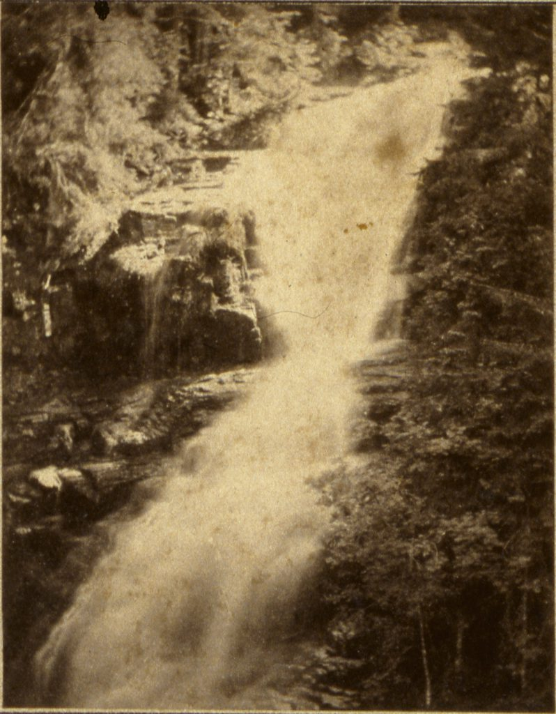 Wodospad Kamieńczyka - Hermann Krone, ok. 1865 rok