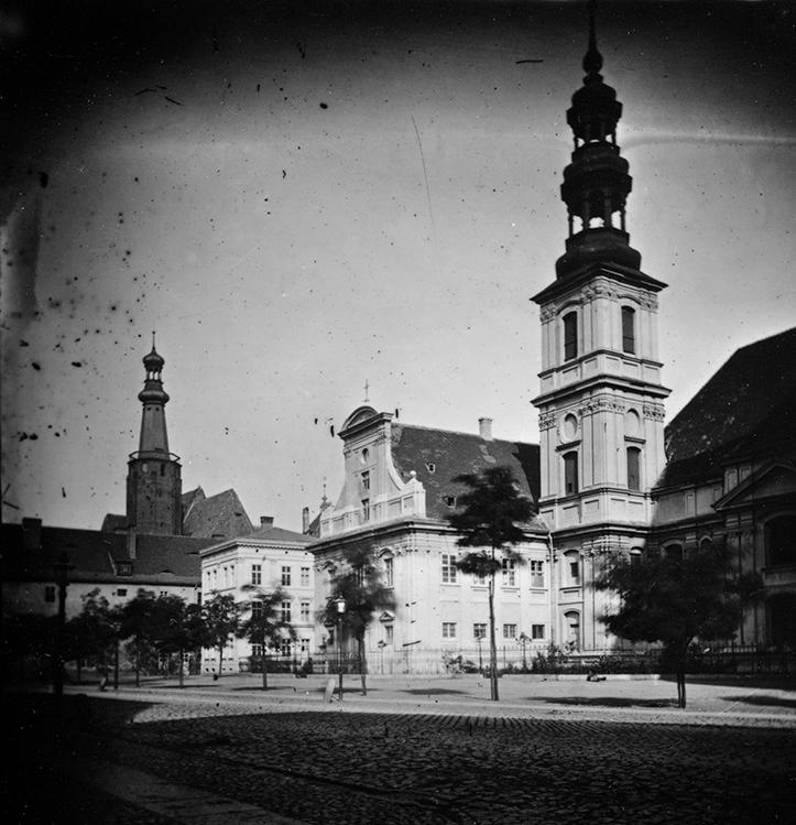 Kościół św. Klary i klasztor Urszulanek - Hermann Krone, po 1863 roku