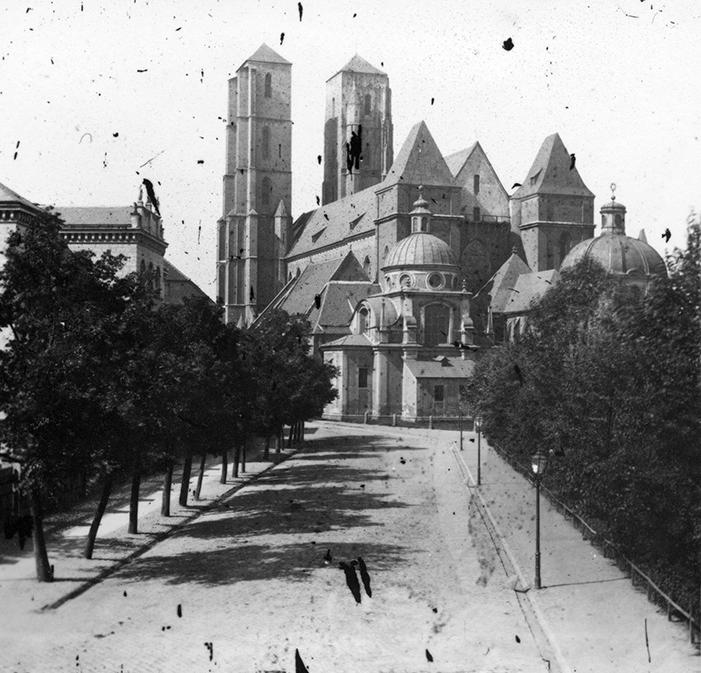 Ostrów Tumski i archikatedra św. Jana Chrzciciela - Hermann Krone, po 1863 roku
