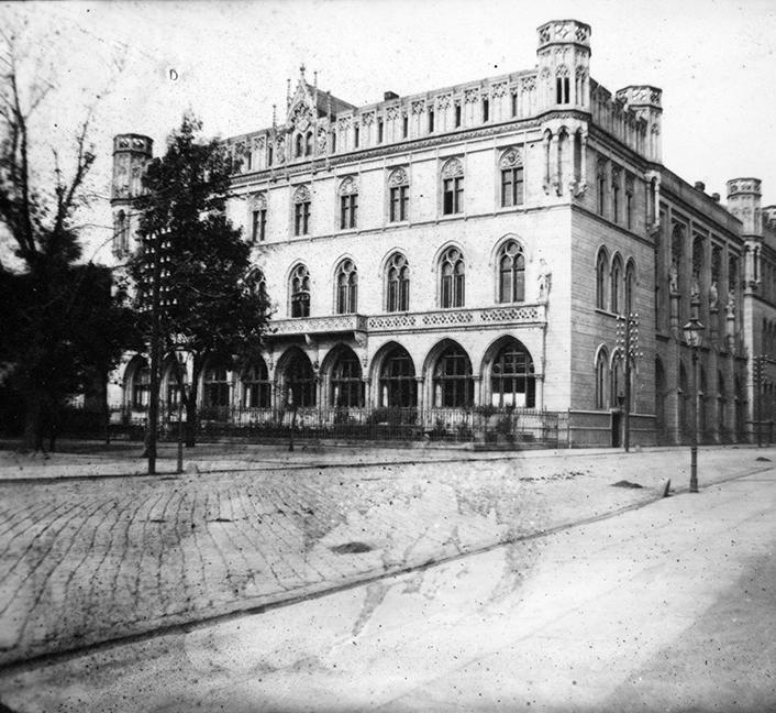 """Nowa Giełda (Klub Sportowy """"Gwardia"""") - Hermann Krone, po 1863 roku"""