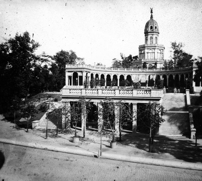Wzgórze Partyzantów, Bastion Sakwowy - Hermann Krone, po 1863 roku