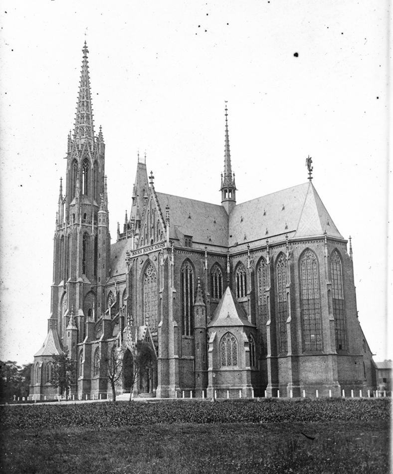 Kościół św. Michała Archanioła - Hermann Krone, przed 1873 rokiem