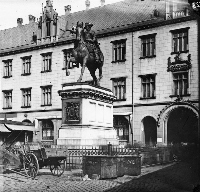 Pomnik Fryderyka Wielkiego (nieistniejący) - Hermann Krone, po 1863 roku